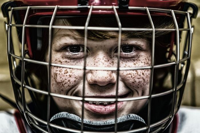 Hokejová výstroj útočníka