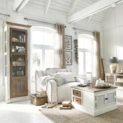 Biele obývacie steny podľa trendov
